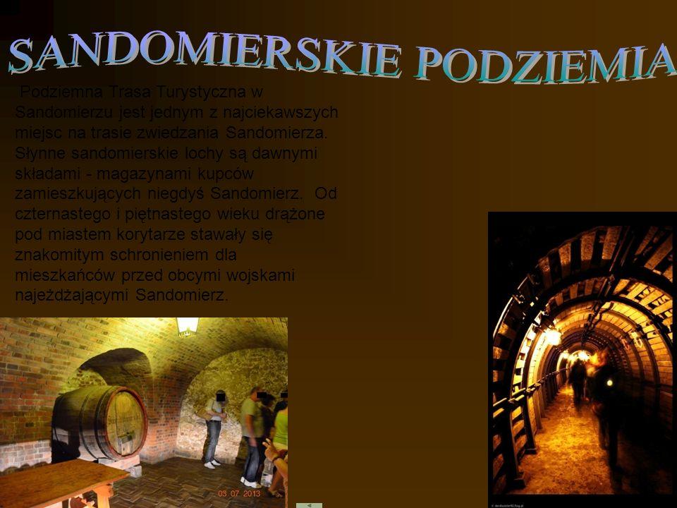 Podziemna Trasa Turystyczna w Sandomierzu jest jednym z najciekawszych miejsc na trasie zwiedzania Sandomierza. Słynne sandomierskie lochy są dawnymi