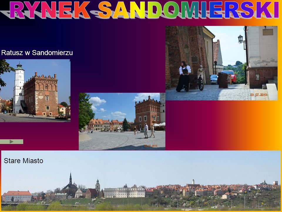 Stare Miasto Ratusz w Sandomierzu