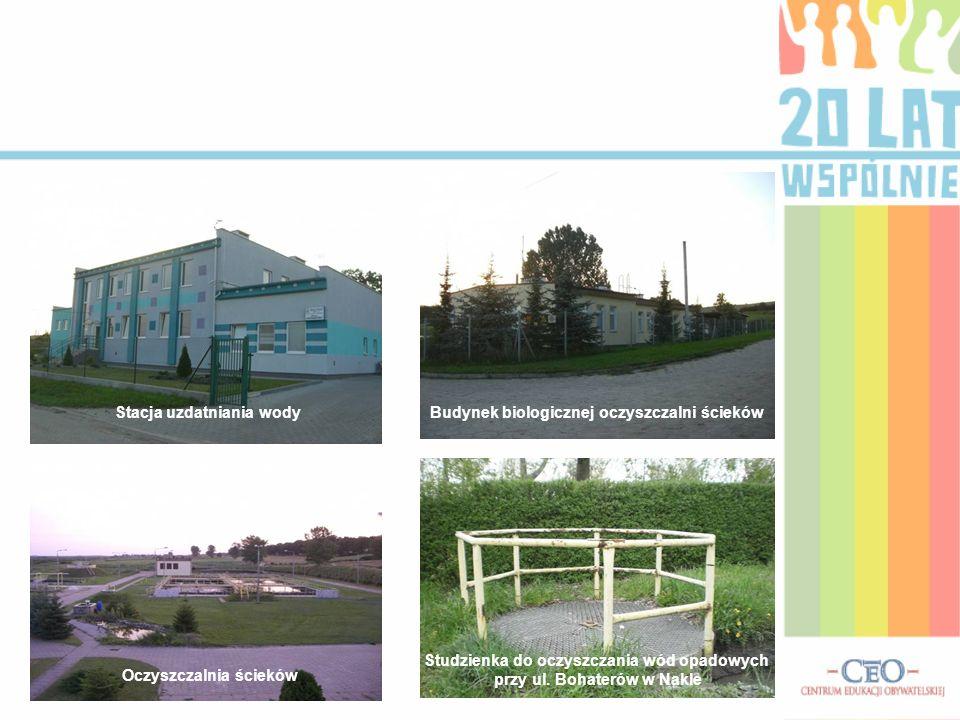 Budynek biologicznej oczyszczalni ściekówStacja uzdatniania wody Oczyszczalnia ścieków Studzienka do oczyszczania wód opadowych przy ul. Bohaterów w N