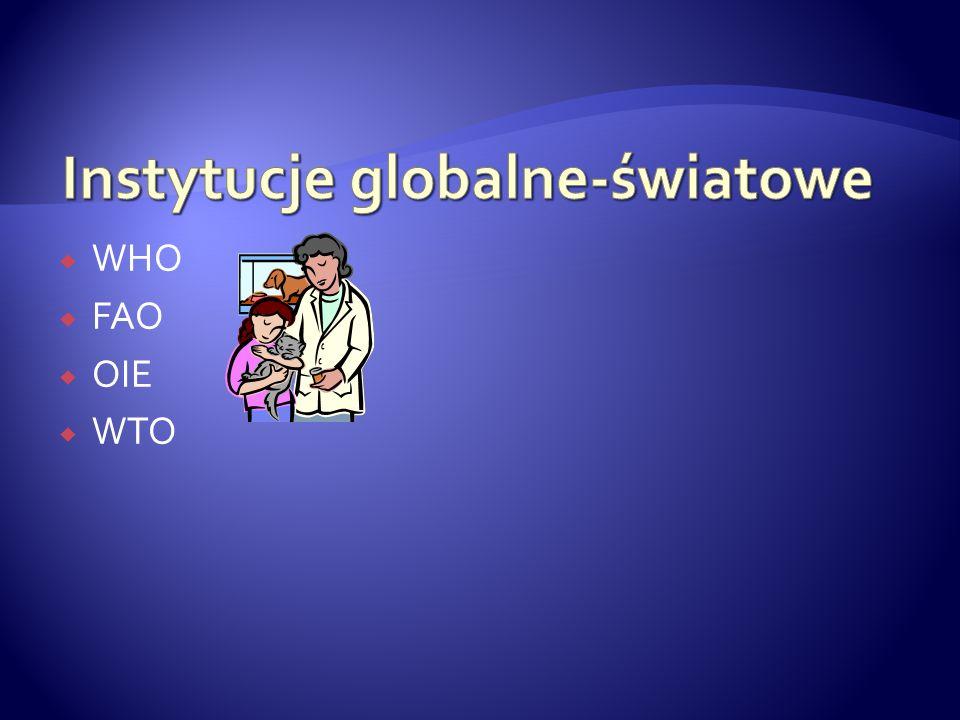 WHO FAO OIE WTO