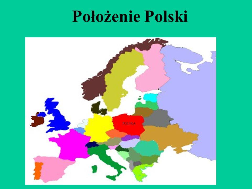 Położenie Polski POLSKA
