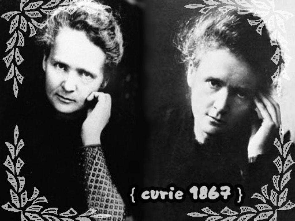Rad i polon Również w 1894 roku poznała swojego przyszłego męża, Francuza Pierre a Curie, który był w tym czasie doktorantem w laboratorium Becquerela.
