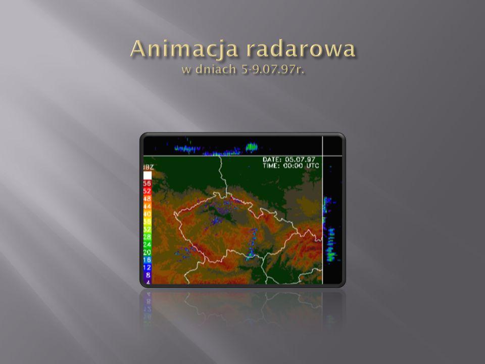 W dniach 3 - 10 lipca 1997 na obszarze południowej Polski, Czech i Austrii wystąpiły obfite opady deszczu.