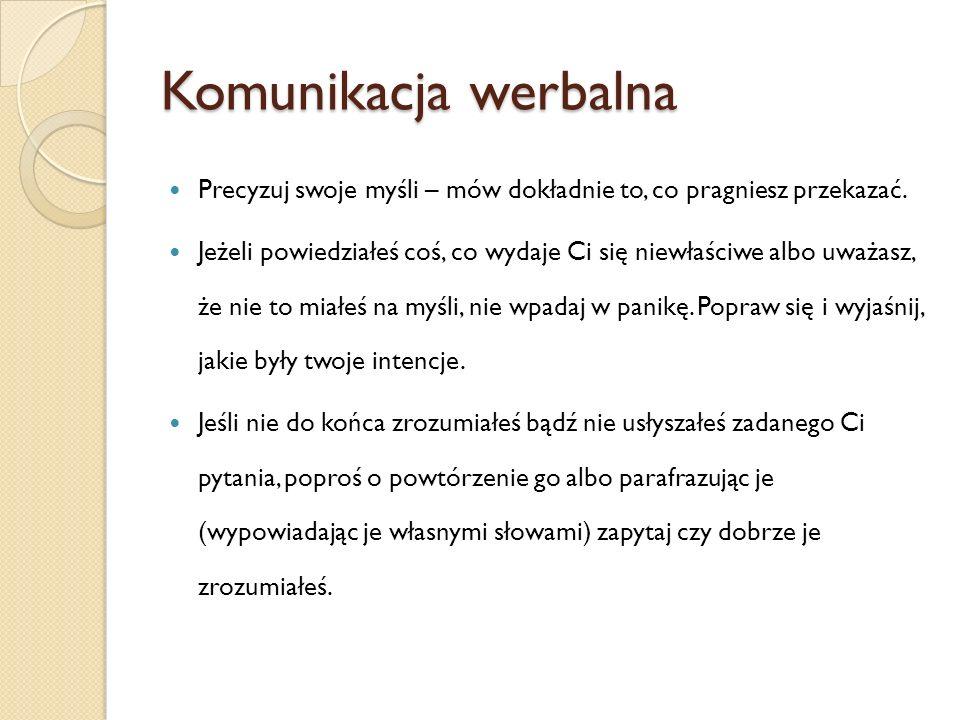 Zasady dialogu z komisją Przyczyna nr 7 – Uporczywe lekceważenie mówcy Wyraz nonszalancji, braku szacunku, ignorancja.