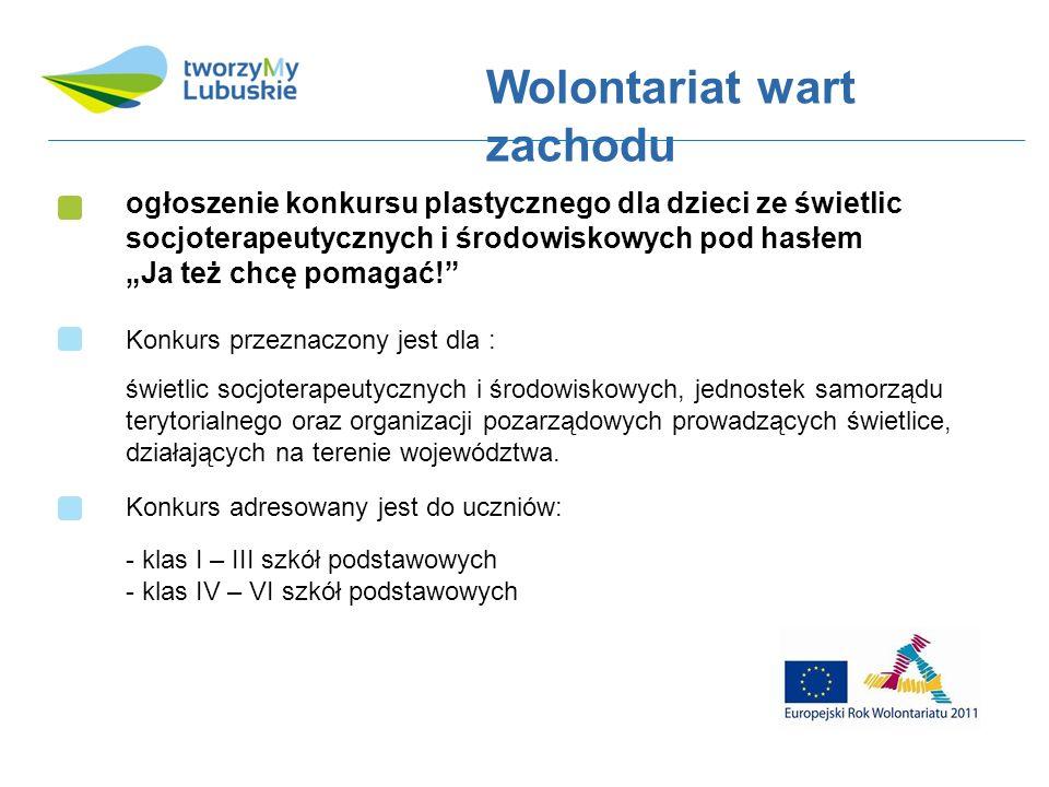 ogłoszenie konkursu plastycznego dla dzieci ze świetlic socjoterapeutycznych i środowiskowych pod hasłem Ja też chcę pomagać.