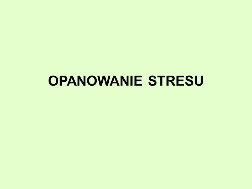 OPANOWANIE STRESU
