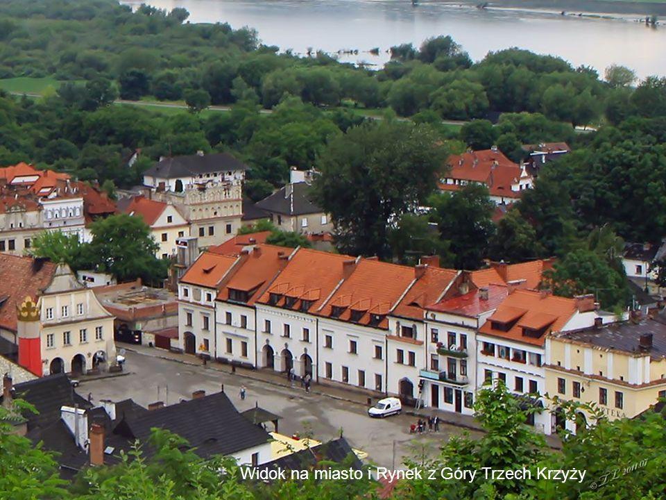 Kazimierz Dolny 51°1920N 21°5651E Początki osady sięgają XI wieku. Prawa miejskie Kazimierz otrzymał w pierwszej połowie XIV wieku. Założenie miasta i