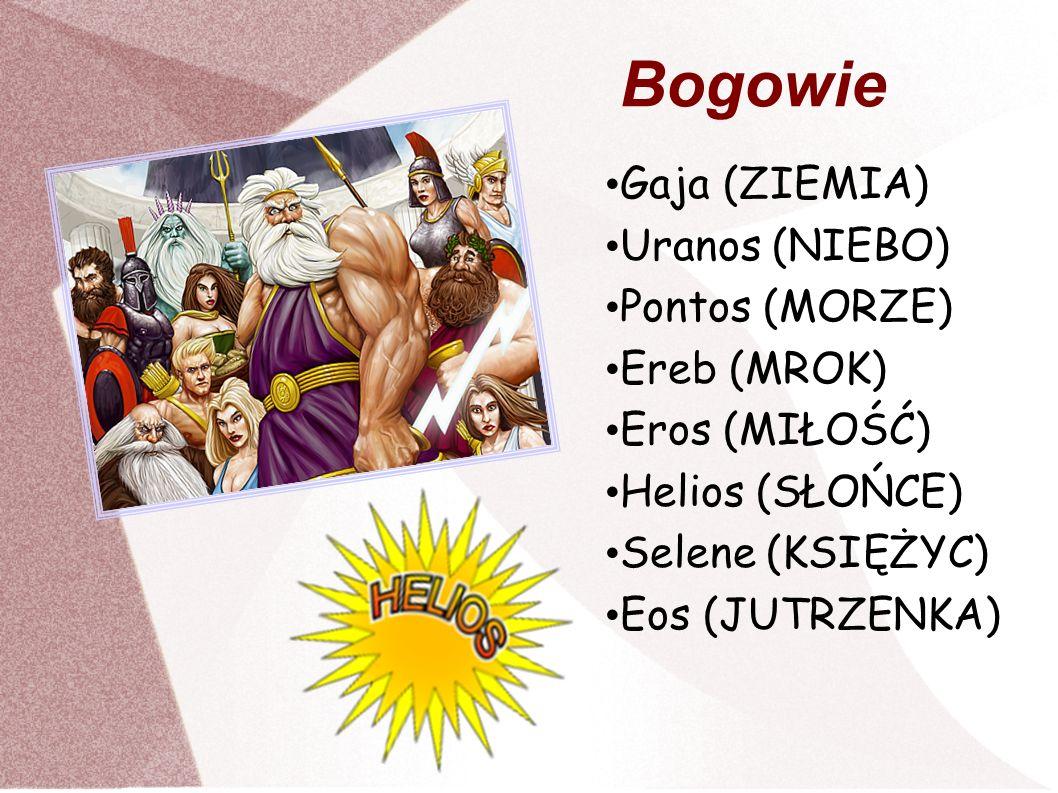 Gaja – w mitologii greckiej Ziemia- Matka.