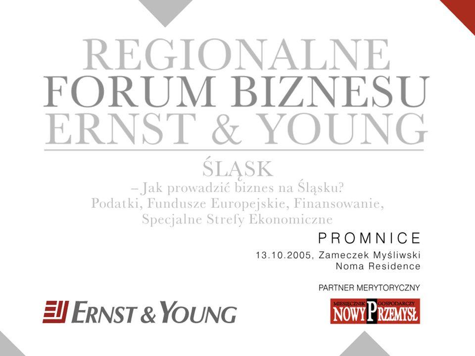 1 Zakres prezentacji 1 Ernst & Young Advisory, wszelkie prawa zastrzeżone 1