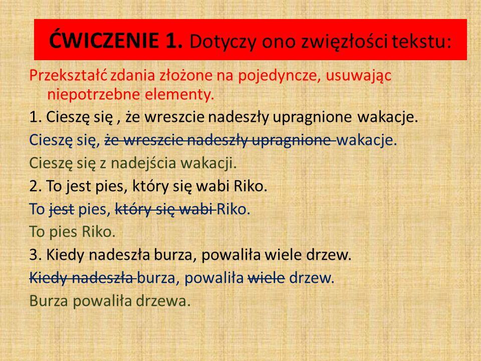ĆWICZENIE 2.