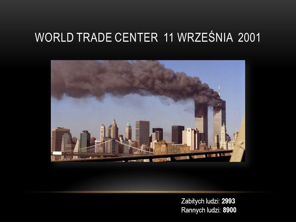 ATAK NA SZKOŁĘ W BIESŁANIE W ROSJI 1-3 WRZEŚNIA 2004 Zabitych: 366 Rannych: 747