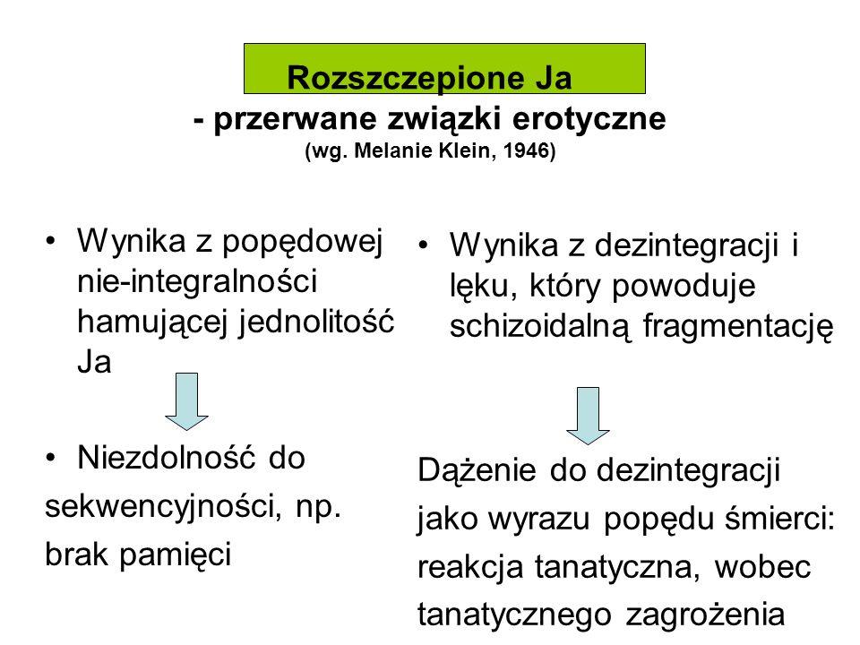 Rozszczepione Ja - przerwane związki erotyczne (wg.