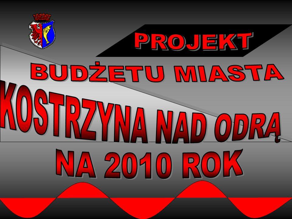 12 Projekt wydatków budżetowych roku 2010 wg działów w mln.zł.