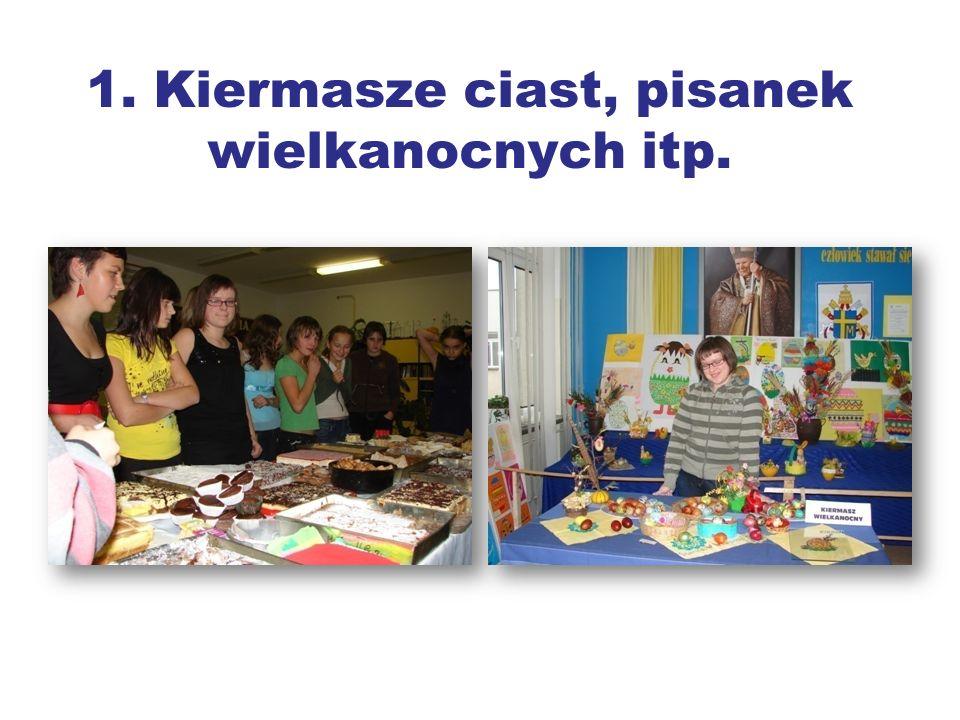 Do akcji angażowana jest cała społeczność szkolna.