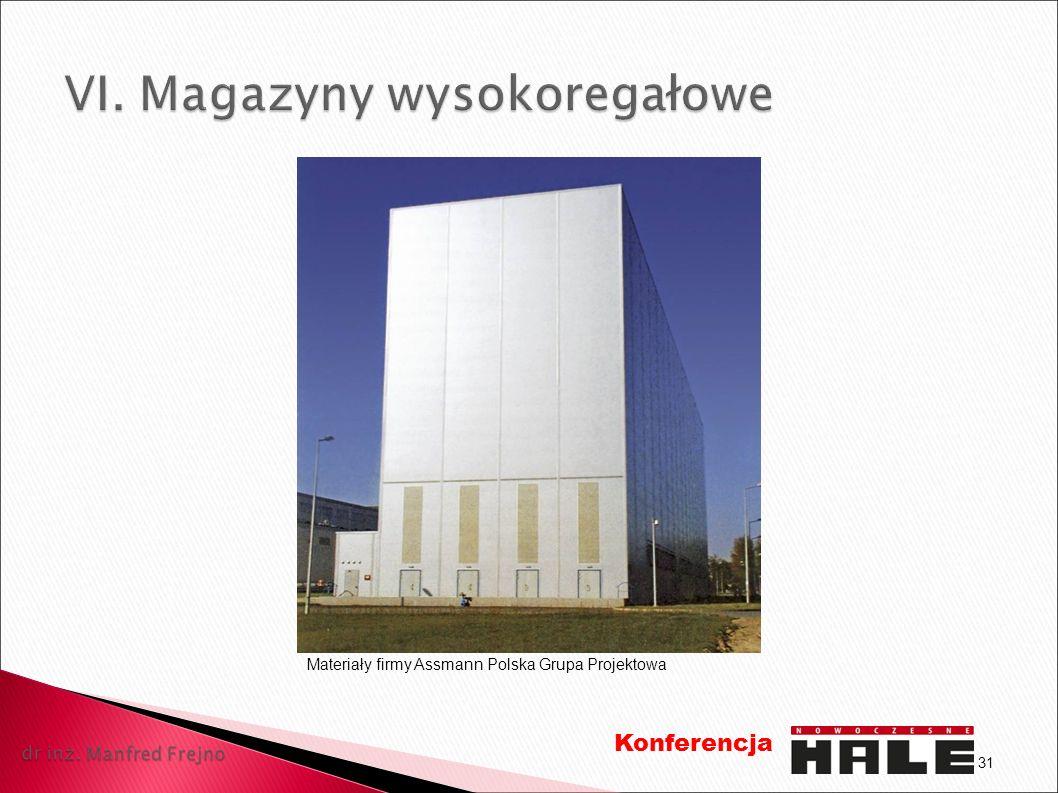 31 Konferencja Materiały firmy Assmann Polska Grupa Projektowa