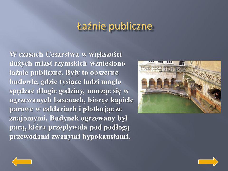 Jednym z najbardziej znanych osiągnięć budowlanych Rzymian była sieć dróg systematycznie rozbudowana już w czasach republiki. Drogi te odgrywały przed