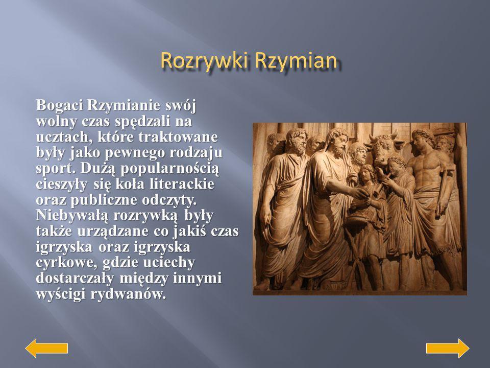 Rzymianie zaciągnęli wzorce z kultury greckiej w literaturze. Pierwsze dzieła to anonimy i były to pieśni obrzędowe, pieśni sławiące przodków i bohate