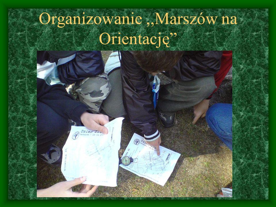 Organizowanie,,Marszów na Orientację