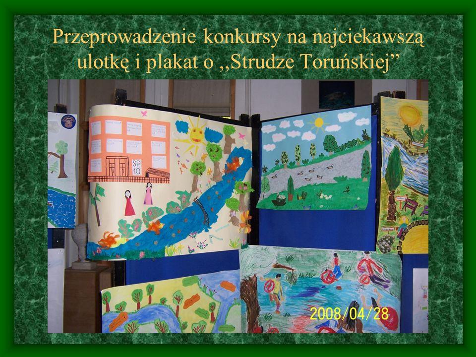 Udział w akcji sprzątania świata- porządkowanie terenu wśród,,Strugi Toruńskiej