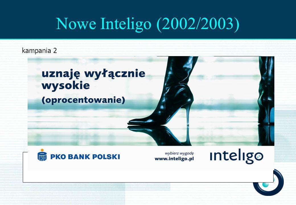 GfK Navigator* Strategic U&A Nowe Inteligo (2002/2003) kampania 2