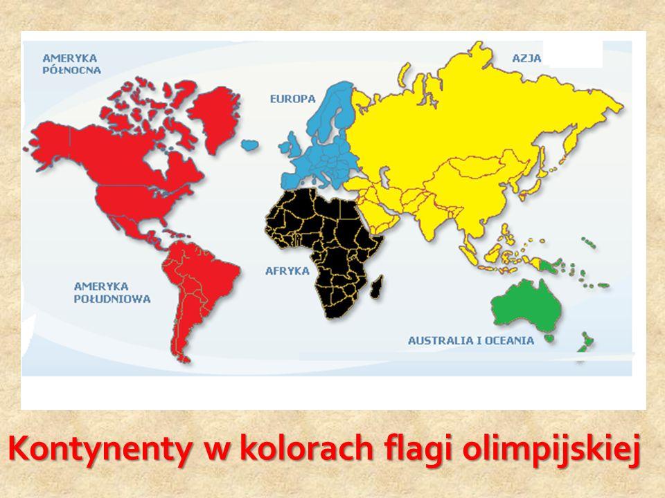 Patron mojej szkoły, był inicjatorem flagi olimpijskiej. Oto jedna ze złotych myśli na ten temat Flaga olimpijska jak wiadomo, jest biała z zamieszczo