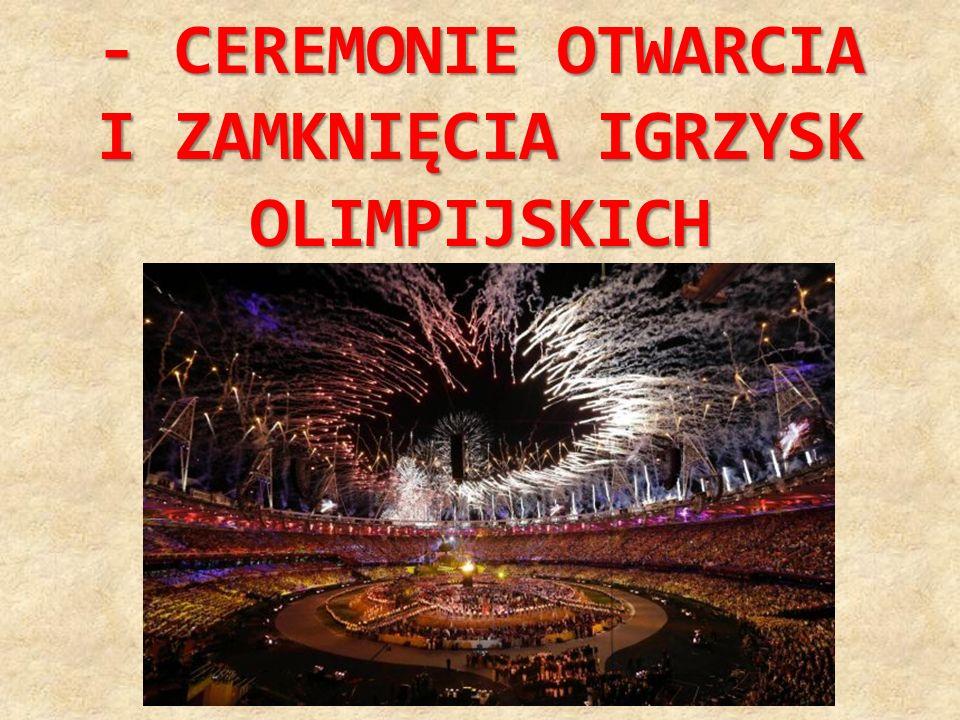 - KOŁA OLIMPIJSKIE