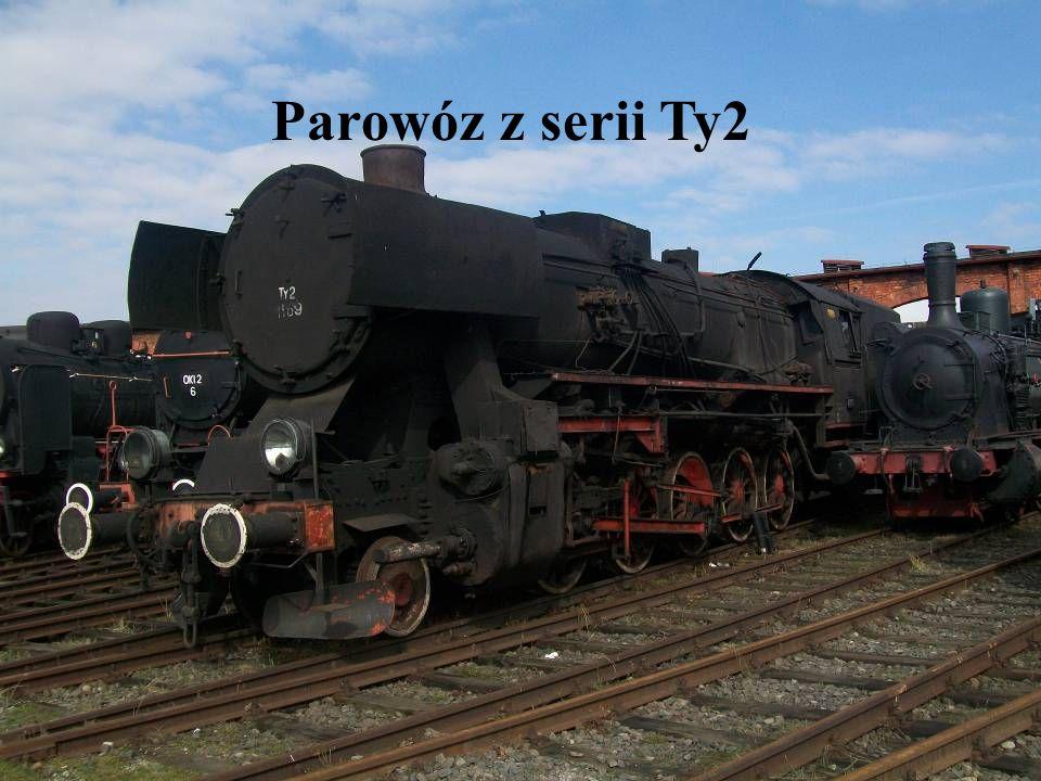 Parowóz z serii Ty2
