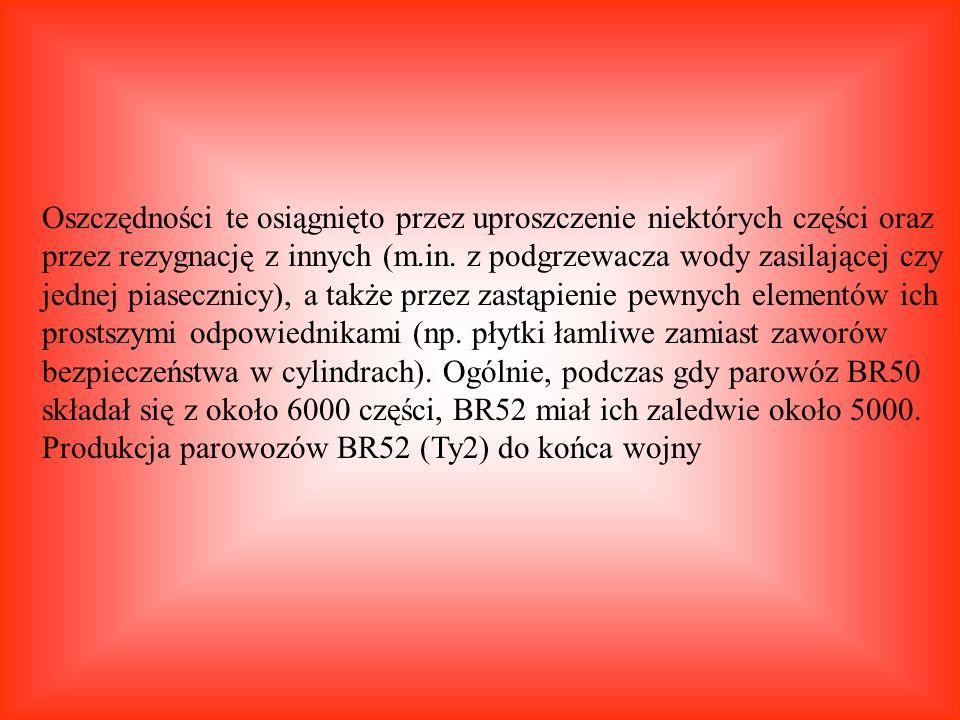 Od Do Parowozownia (lokomotywownia) 24.05.1946 23.02.1948 Opole 24.02.1948 23.05.1952 Katowice 24.05.1952 23.01.1954 Czechowice 24.01.1954 25.06.1979 Jaworzno - Szczakowa 26.06.1979 Kościerzyna (lokomotywownia i skansen) Całkowity przebieg parowozu na PKP - 1 615 007 km.