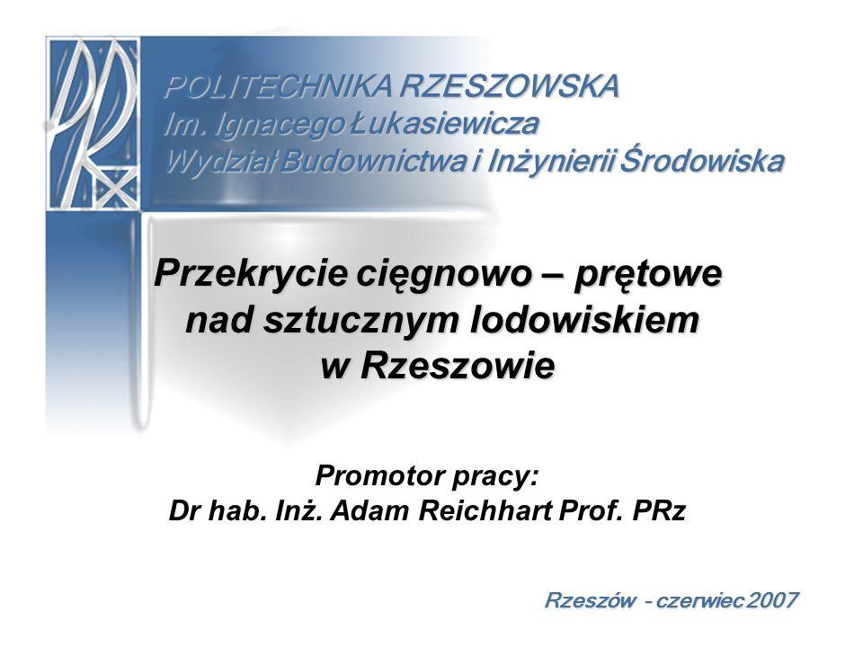 PROJEKT TECHNICZNY Połączenie ramki z cięgnem górnym Rzeszów - czerwiec 2007