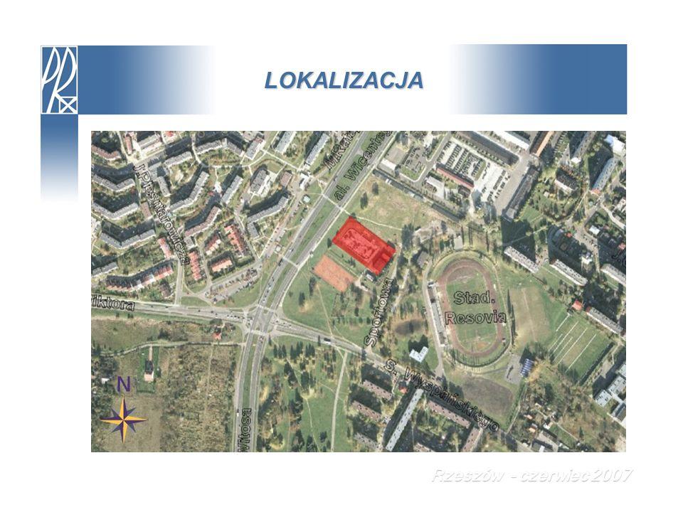 ROZWIĄZANIA KONCEPCYJNE Koncepcja nr 2 – fragment układu kotwiącego Rzeszów - czerwiec 2007