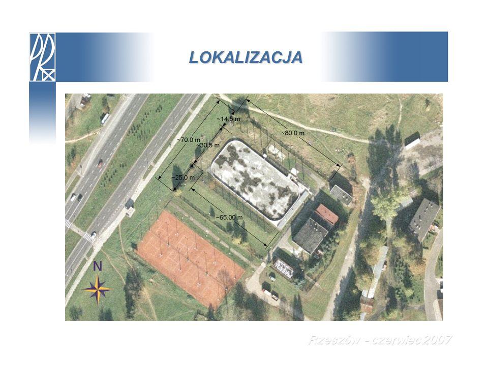 ROZWIĄZANIA KONCEPCYJNE Wstępnie napięty przestrzenny dźwigar cięgnowy Rzeszów - czerwiec 2007