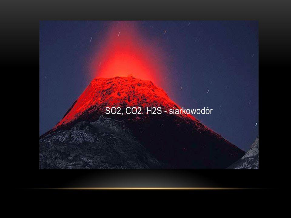 SO2, CO2, H2S - siarkowodór