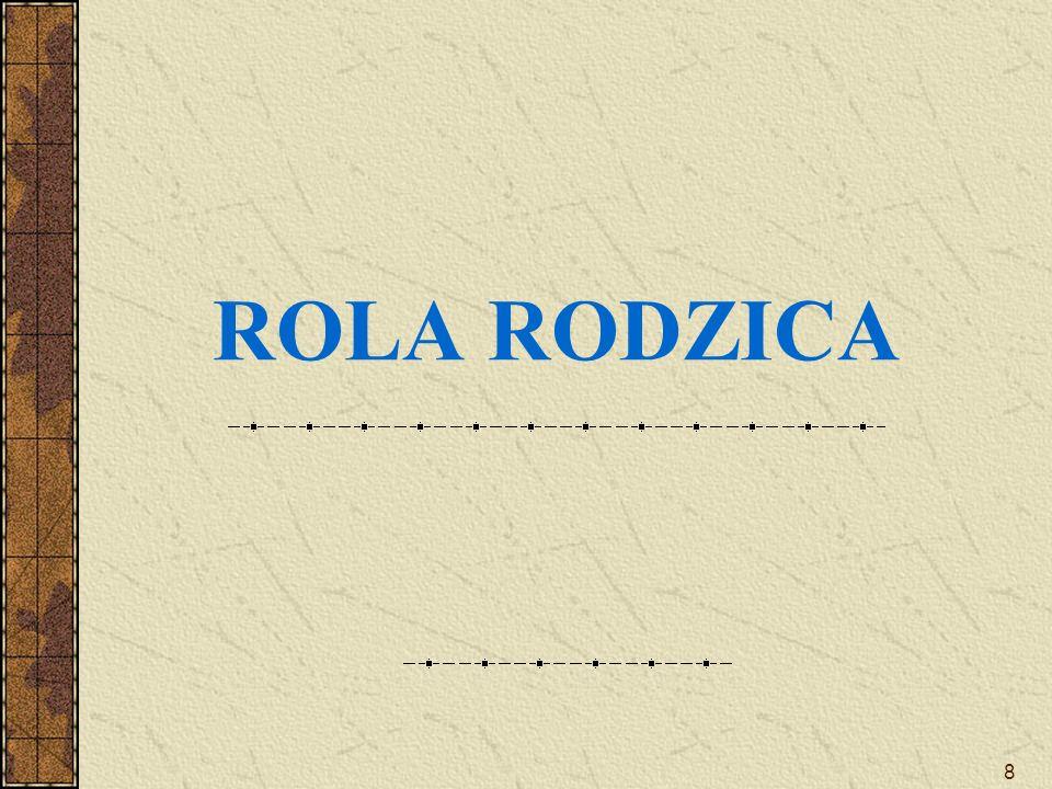 8 ROLA RODZICA