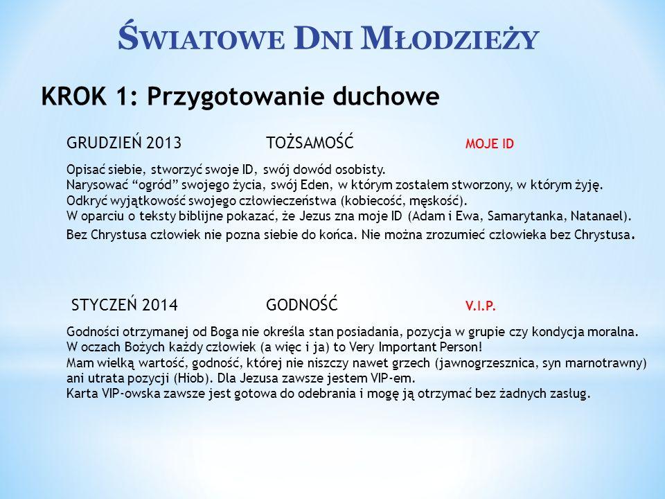 Ś WIATOWE D NI M ŁODZIEŻY Przyjęcie młodych w diecezjach polskich Od roku 1997 centralne wydarzenia Światowych Dni Młodzieży są poprzedzone kilkudniowym pobytem grup zagranicznych we wszystkich diecezjach kraju, który jest gospodarzem spotkania.