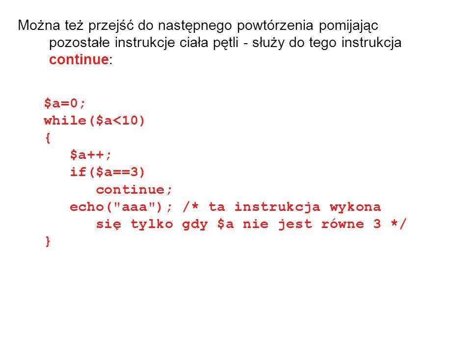 Formularze HTML najczęściej zawierają: Metodę Akcję Pola wejściowe Pierwszy wiersz formularza w kodzie HTML może wyglądać następująco: Post - zmienne przekazywane są z formularza z wykorzystaniem superglobalnej tablicy $_POST Get – tablica $_GET.