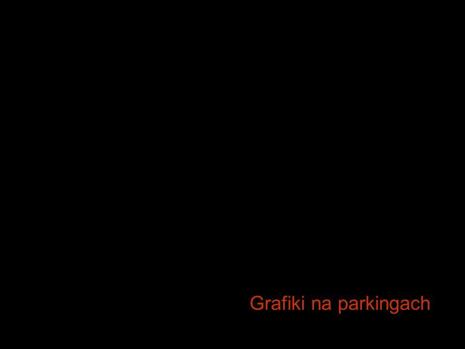 Grafiki na parkingach