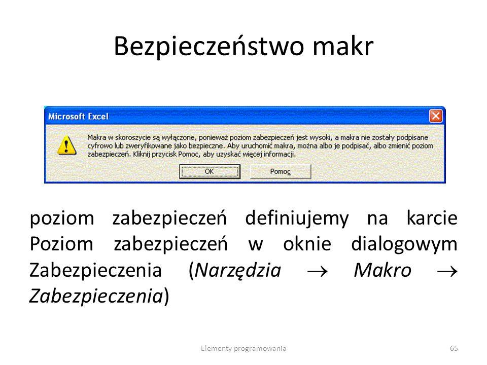 Typ Danych Wielkość pamięciZawartośćZakres String 10 bajtów + długość stringu (dla zmiennej długości stringu); długość stringu (dla stringów o ustalonej długości) łańcuch znaków 0 do 2 miliardów znaków dla Windows 95 (0 do 65,400 dla Windows 3.1 i wersji wcześniejszych) Variant (z liczbami) 16 bajtówdowolne danekażda wartość numeryczna Variant (ze znakami) 22 bajty + długość stringu dowolne dane (poza stringiem o ustalonej długości i typem zdefiniowanym przez użytkownika) taki sam zakres co zmiennej typu String