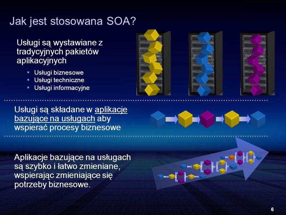 6 Jak jest stosowana SOA.