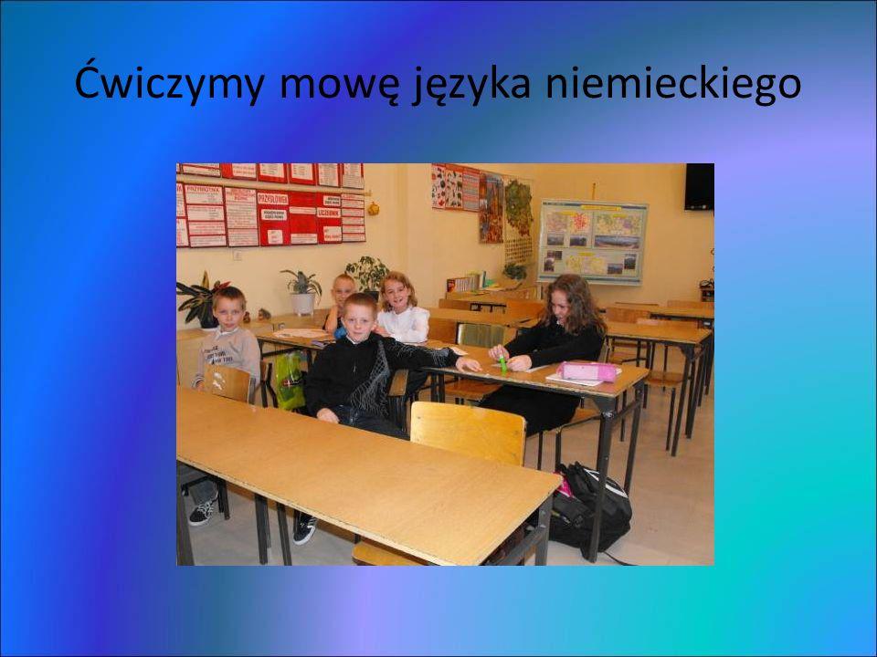 Ćwiczymy mowę języka niemieckiego