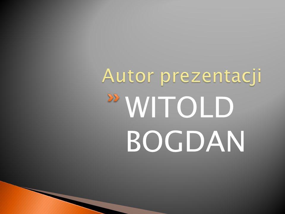 WITOLD BOGDAN