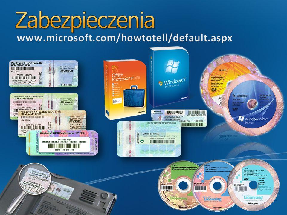 Jako benefit SA lub subskrypcji: Software Assurance VDA Windows Intune Rozszerzone uprawnienia związane z wirtualizacją