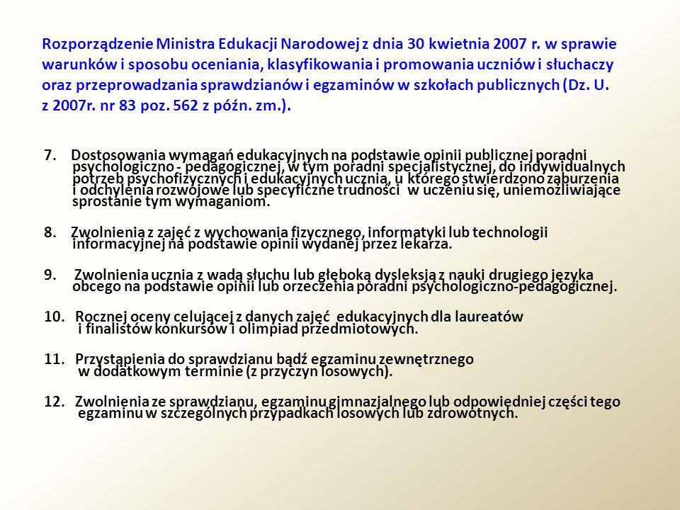 1.Prawo do nauki, informacji oraz rozwoju zainteresowań, zdolności i talentów.