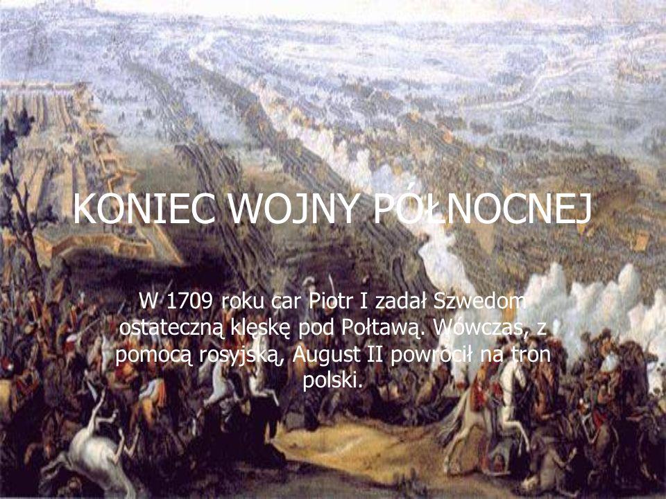BITWY… Bitwa pod Kaliszem stoczona w 1706 roku, przyniosła zwycięstwo wojskom Augusta II nad siłami szwedzkimi, ale nie zmieniła losów wojny. Choć Pol