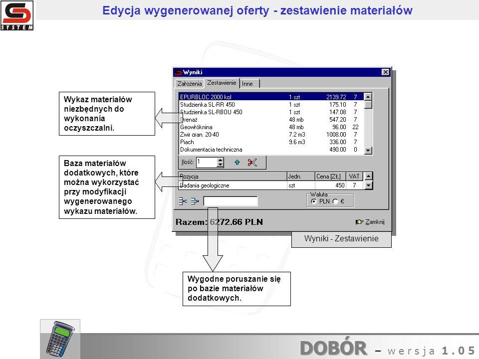 Konfiguracja - Ceny Konfiguracja - Firma Szybka konfiguracja programu.