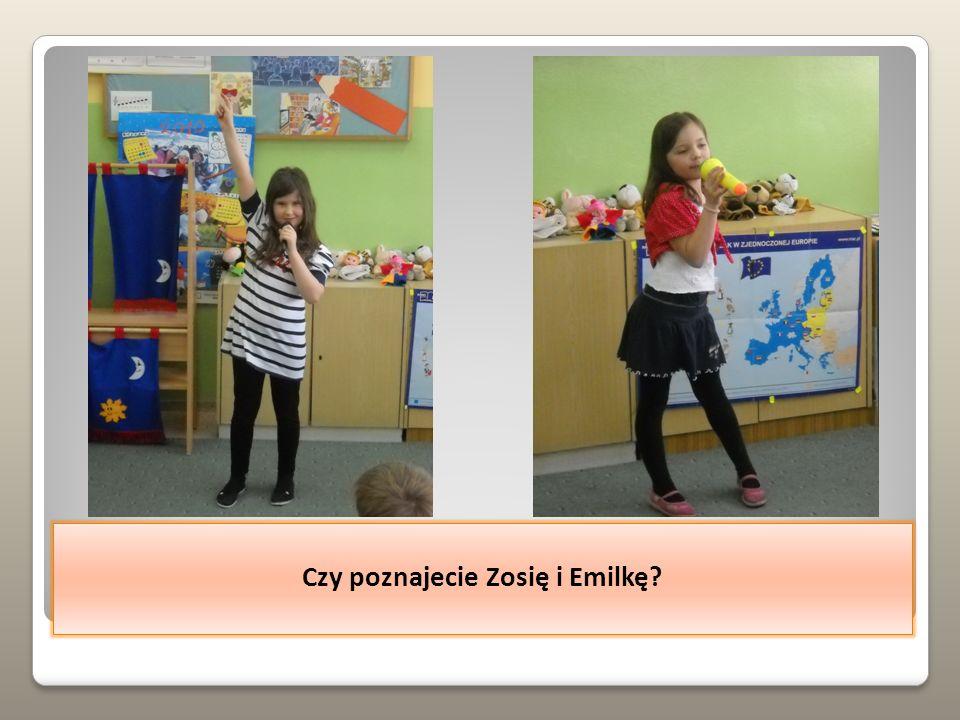 Podobał nam się też występ Julii i Jagody.
