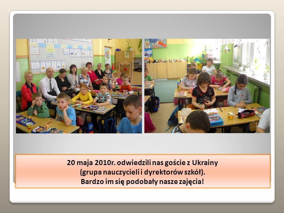 W czasie lekcji też często korzystaliśmy z ciekawych pomocy.