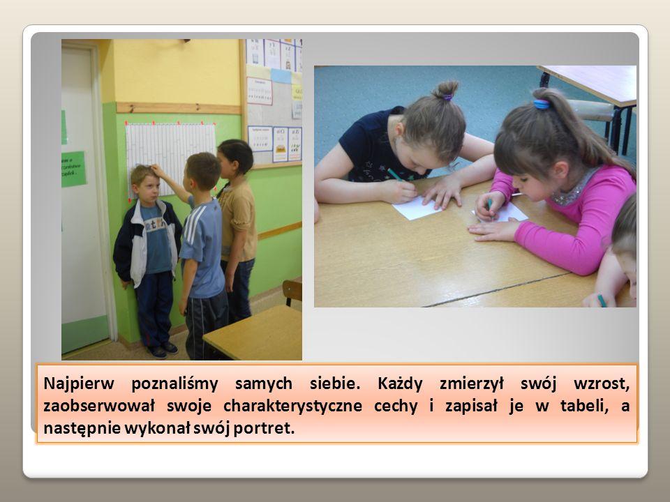 projekt realizowany przez mgr Magdalenę Kwiatkowską w klasie I a w Szkole Podstawowej nr 3 im.