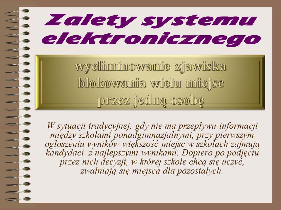 Rekrutacja do szkół ponadgimnazjalnych system elektroniczny POWIAT BUSKI