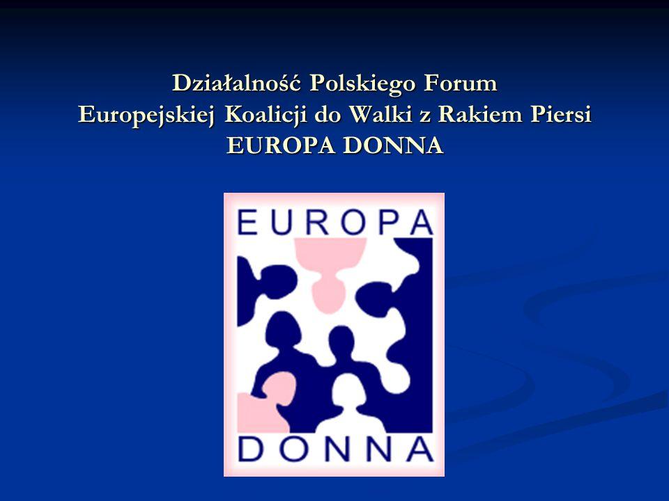HISTORIA EBCC EUROPA DONNA