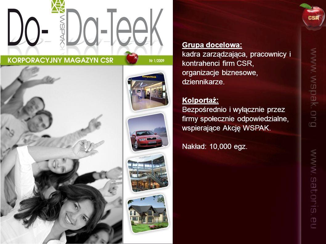 Wybrane firmy kolportujące Do-Da-TeeK